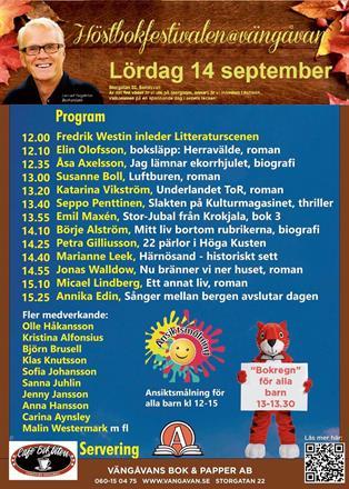 Vängåvans Höstbokfestival