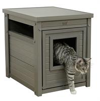 Katthus Eco Cabinet Kerbl Grå 47x60x56 cm