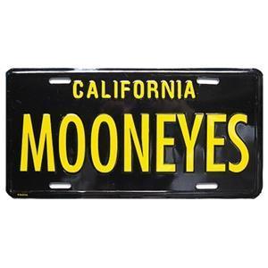 Mooneyes nummerskylt