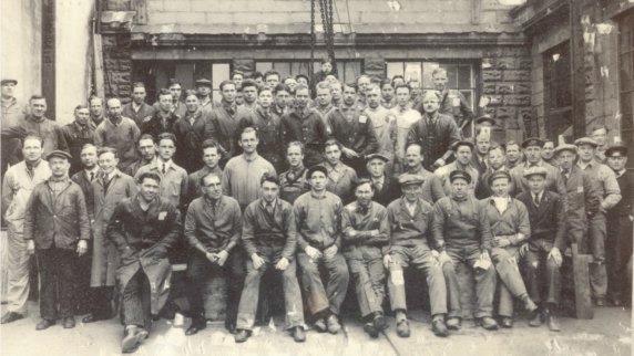 Torpedofabrikken i 1934