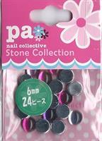 DL- Round red pink purple 6mm