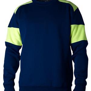 Sweatshirt 221 marin/gul XL