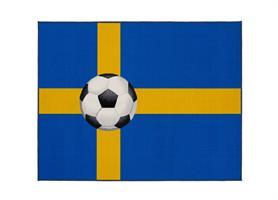 Fotbollsmatta Sverige 133*170