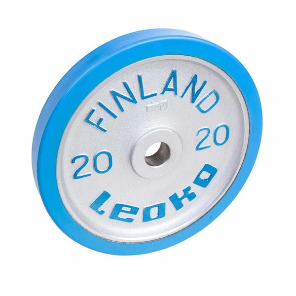 Leoko VL skive kalibrert 20kg Blå