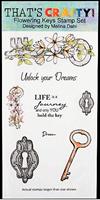 DL Clear stamp set Flowering Keys