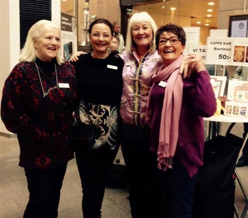 Lill Viljesten, Pia F Davidson, Carina Aynsley, Birgitta Backlund