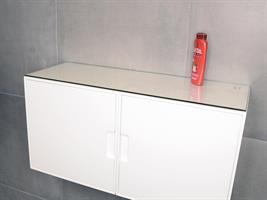 80x30 cm, Härdat glas (5mm)
