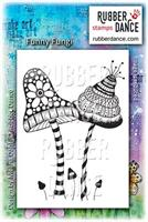 Rubber stamp Funny Fungi