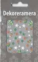 DM- Sticker Stjärnor o Jul / Christmas
