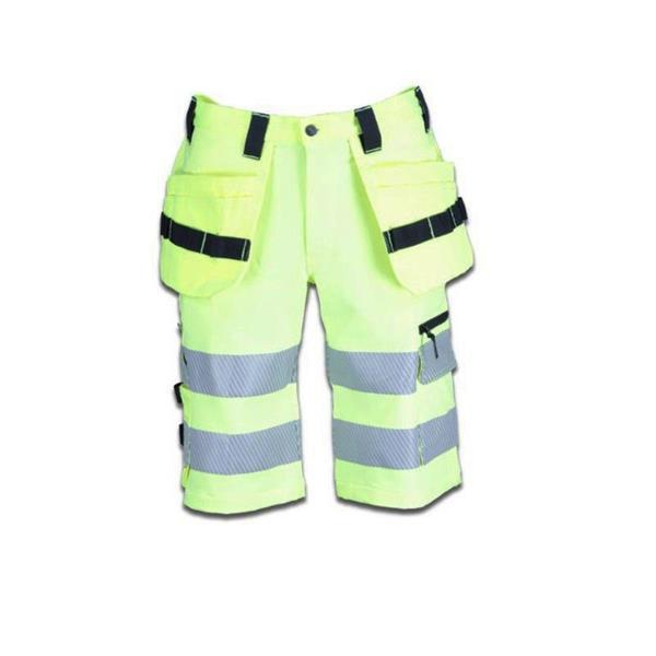 Shorts 4-vägs stretch gul 315 klass 2