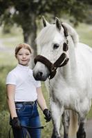 Grimma Nylon Med Ludd Brun Ponny
