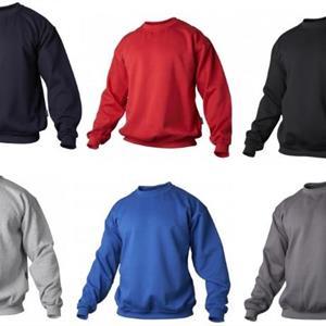 Sweatshirt svart 4XL
