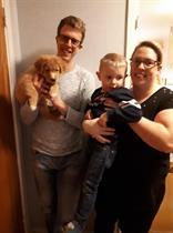 """Soliandens humle """"Oskar"""" och hans familj"""