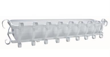 Balkonglåda komplett vit 80cm