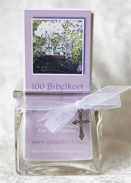 Mannakorn - 100 kort i krukke