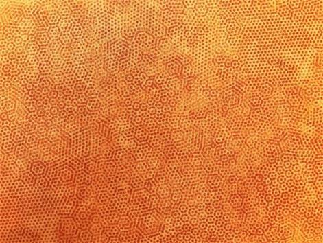 Lys orange m/ prikker
