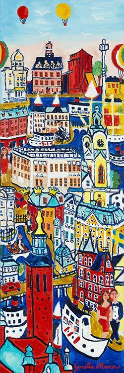 Stockholm - Stolta Stad (24x72)