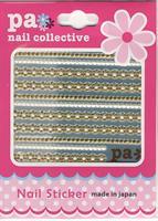 DL- Sticker ribbon gold