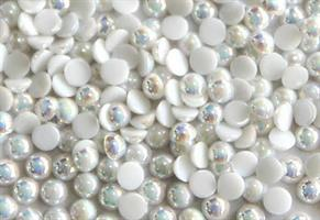 KN- Pearl #AB White Multicolor Small