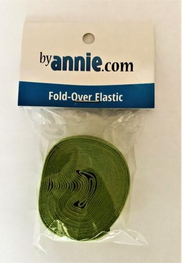 Fold-Over Elastic 2 yard, grønn