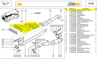COLLECTEUR + Y-SORTIE - Exhaust manifold + Y outlet