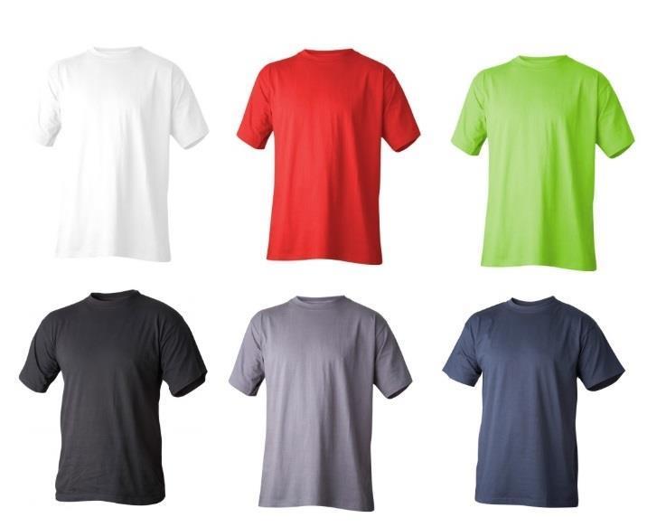 T-Shirt bomull svart 4XL