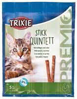 PREMIO Stick Quintett, Fågel&Lever, 5x5g