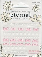 DL- Sticker Heart bow lace