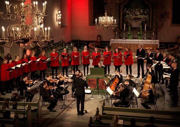 Jubileumskonsert med Oslo domkirkes ungdomskor
