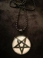 Pentagram star,kaulakoru2