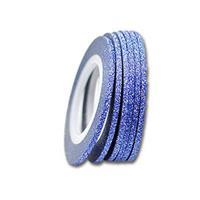 KN- Glitter Stripe Blue