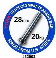 York US FWB 32002 28mm vektløfting treningssstang