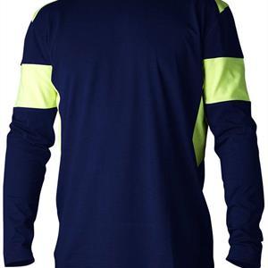 T-shirt 212  l.ä marin/gul S