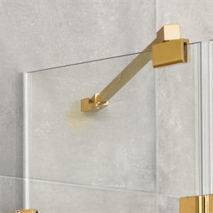 RoyalBath Fast + Vikbart Duschdörr, 70 cm, Klarglas, GD