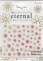 DL- Sticker Flower pink & beige