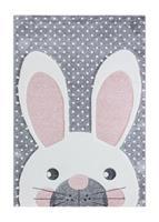 London Rabbit Grå 120*170