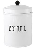 PLÅTBURK   BOMULL VIT