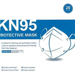 Skyddsmask korttid KN95 2-pack