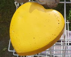 Betoni sydän, keltainen