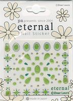 DL- Sticker pattern green