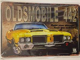 Olsmobile 442, kyltti