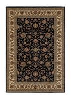 Marrakesh Isfahan Svart 160*230