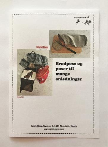 Mønster til brødpose og andre nyttige poser