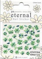 DL- Sticker Flower green