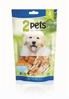 2pets Dogsnack Chicken/Fish Cubes 100g