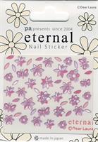 DL- Sticker Butterfly purple