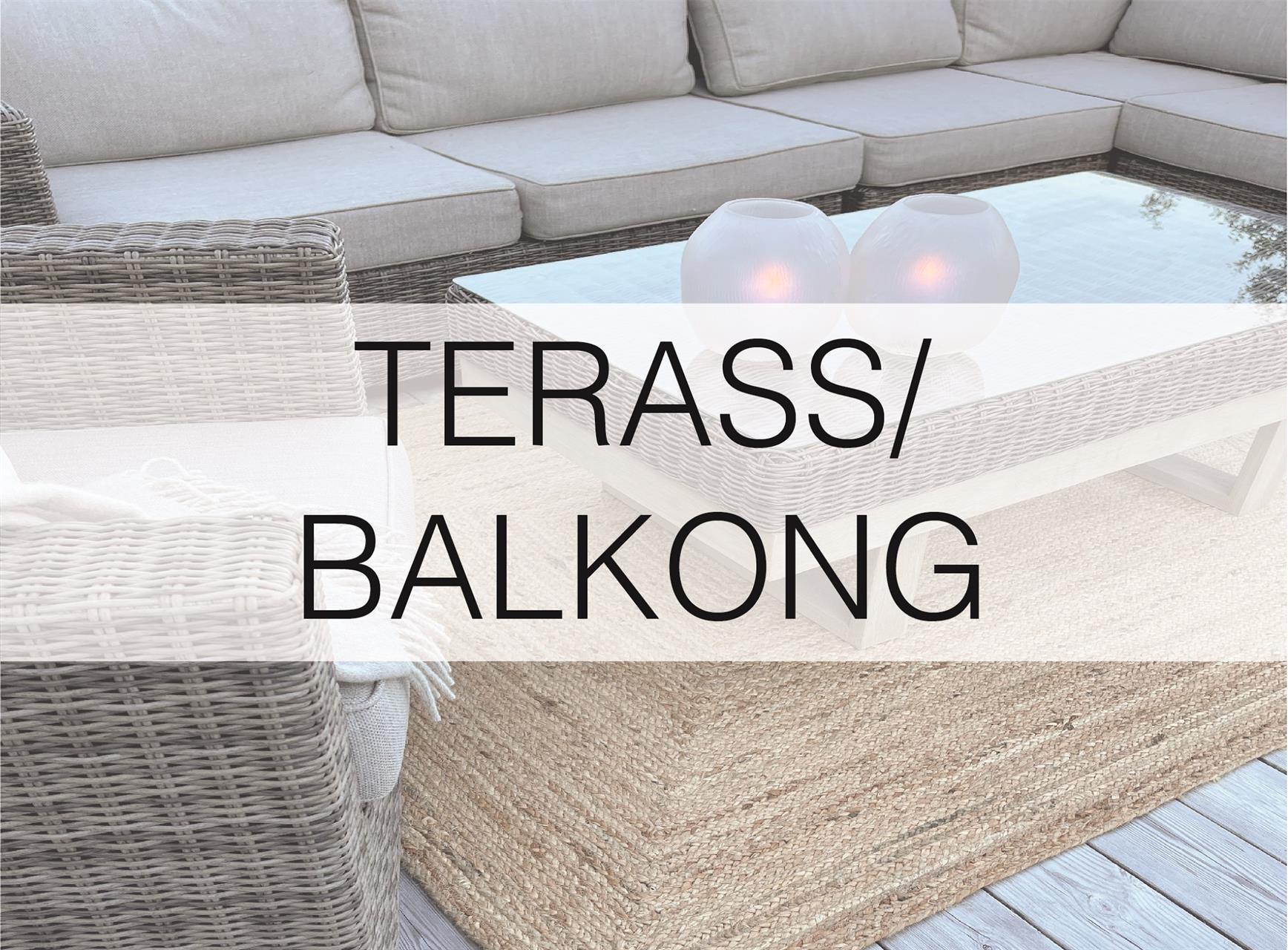 Terass/Balkong