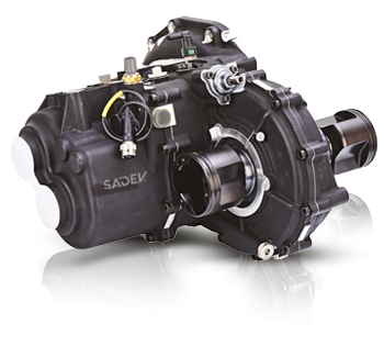 ST82-14 Gearbox without oilpump, with LSD