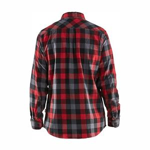 Blåkläder Skjorta röd/svart 3299