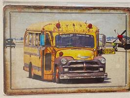 School Bus, kyltti